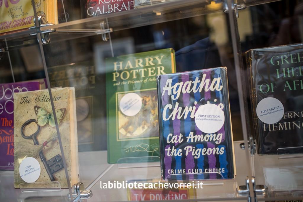 Edizione autografata di Harry Potter e prima edizione di un libro di Agatha Christie