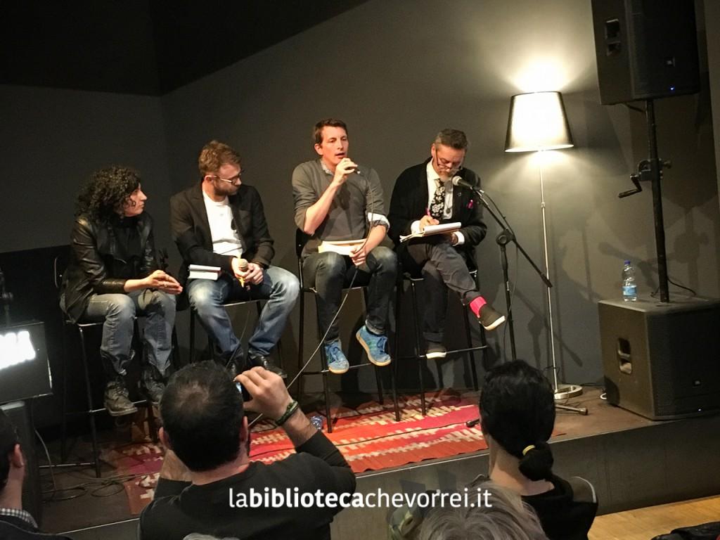 """Garth Risk Hallberg parla della stesura di """"Città in fiamme"""" con Paolo Giordano."""