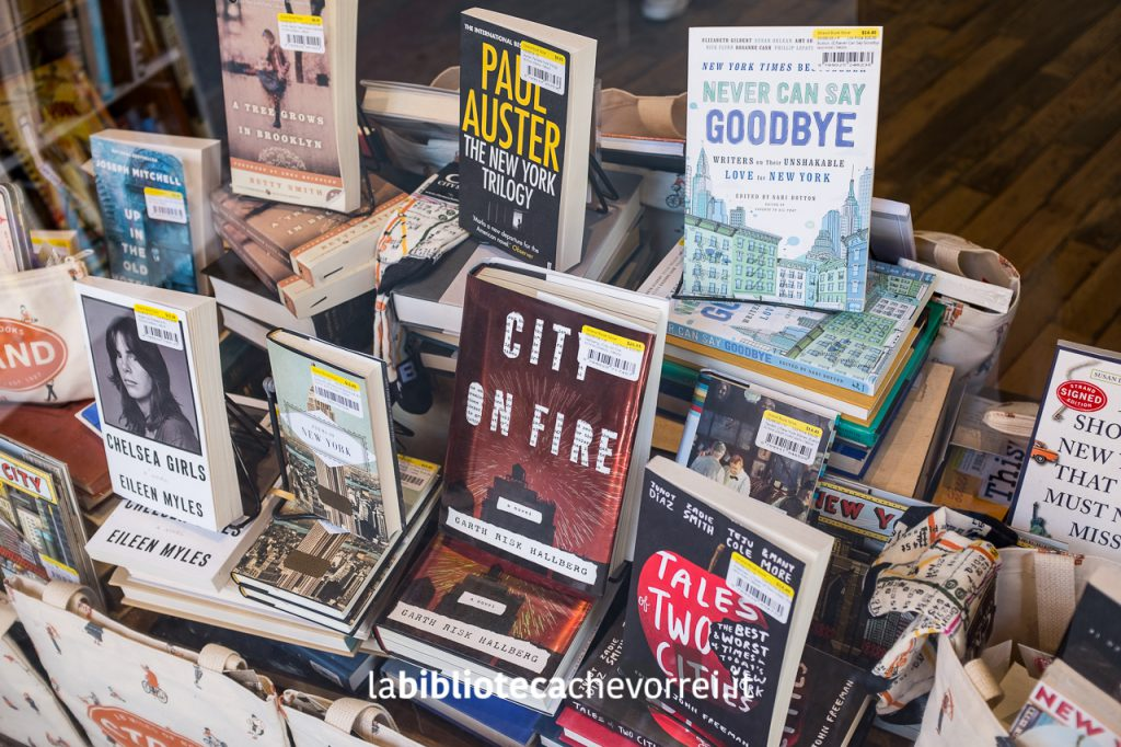 Selezione di romanzi ambientati a NYC.