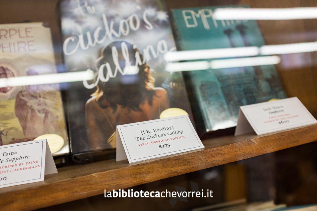 Edizione americana del giallo firmato da J.K. Rowling con lo pseudonimo Robert Galbraith.
