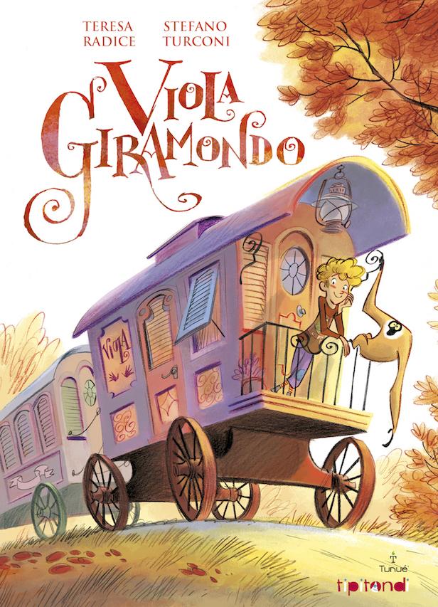 La copertina italiana di Viola Giramondo.