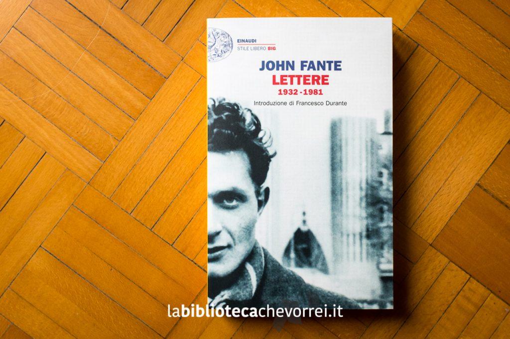"Copertina sbagliata ""Lettere"" di John Fante, casa editrice Einaudi, 2014."