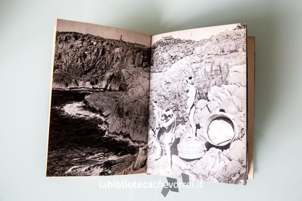 """Interno del libro """"L'isola delle pescatrici"""" di Fosco Maraini, 1960."""
