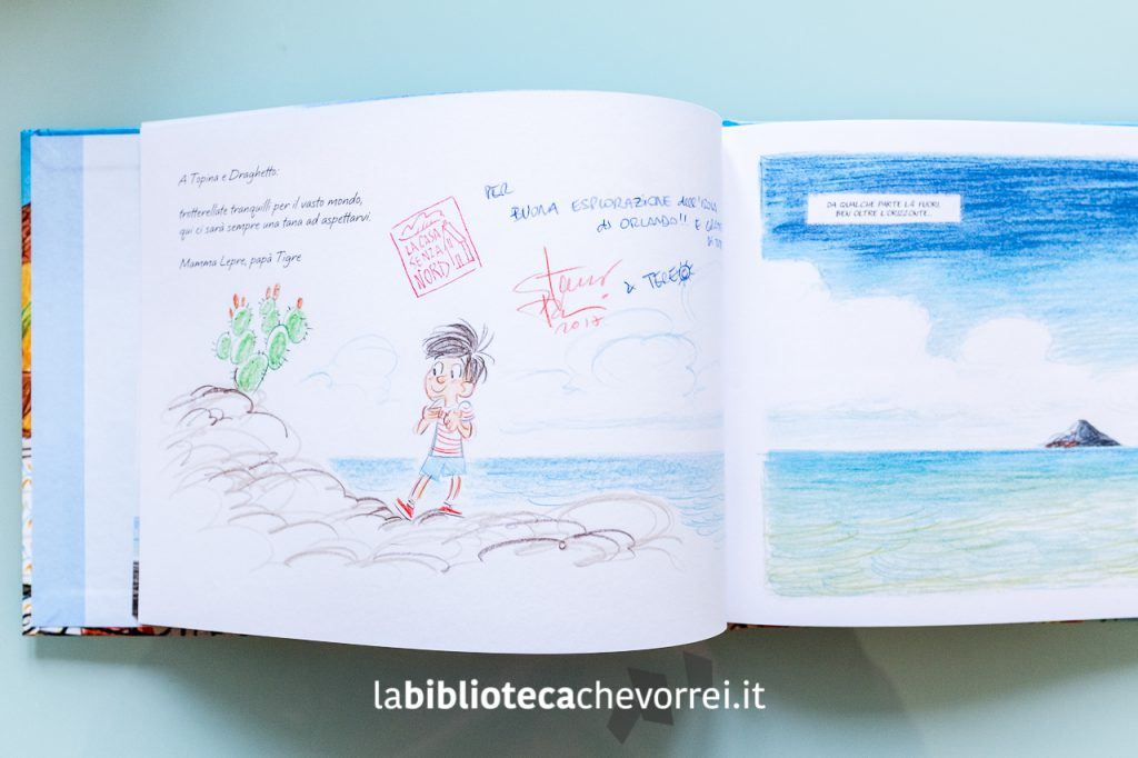 """Bellissima illustrazione di Stefano Turconi sul nuovo volume edito da Bao Publishing """"Orlando curioso"""" scritto da Teresa Radice."""