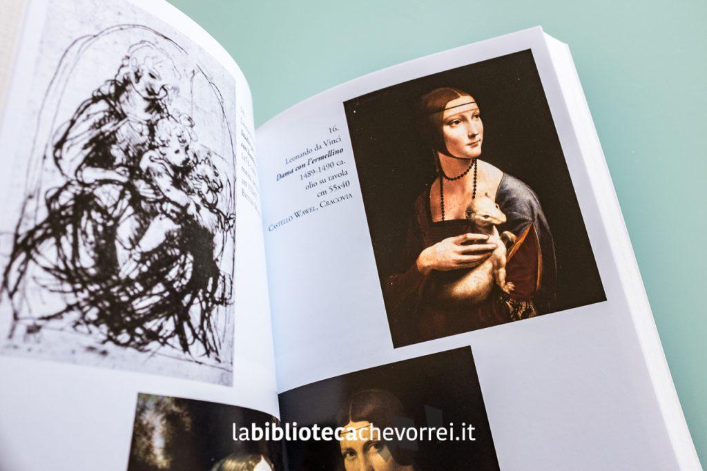 Altre pagine interne errate. Le tavole riproducono le opere di Leonardo Da Vinci e non di Raffaello.