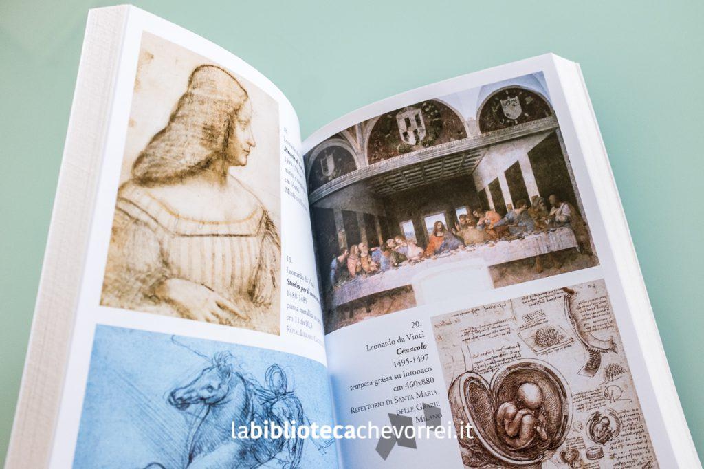 Pagine interne errate. Le tavole riproducono le opere di Leonardo Da Vinci e non di Raffaello.
