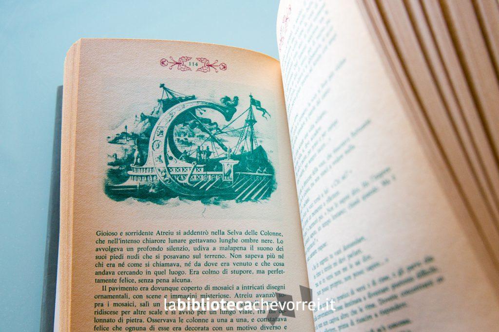 Un'altra illustrazione originale di Antonio Basoli per i capolettera di ogni capitolo.