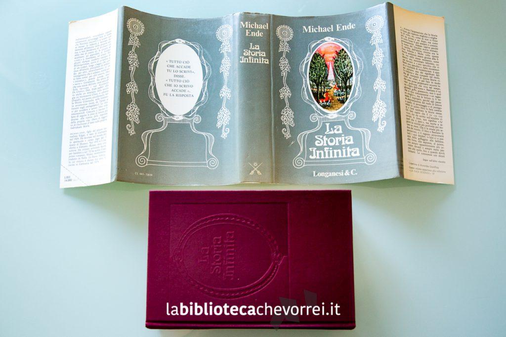"""""""La storia infinita"""" Michael Ende, prima edizione italiana, 1981."""
