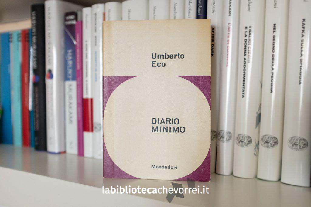 """Prima edizione di """"Diario minimo"""" di un giovane Umberto Eco. Gennaio 1963."""