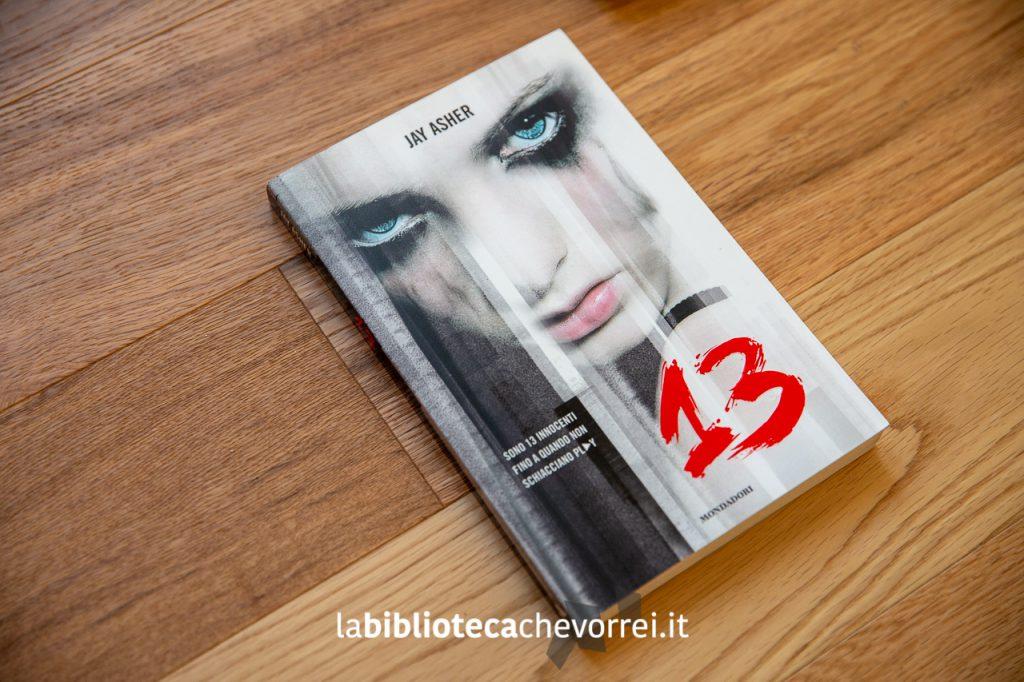 """1a edizione del libro di Jay Asher """"13"""""""