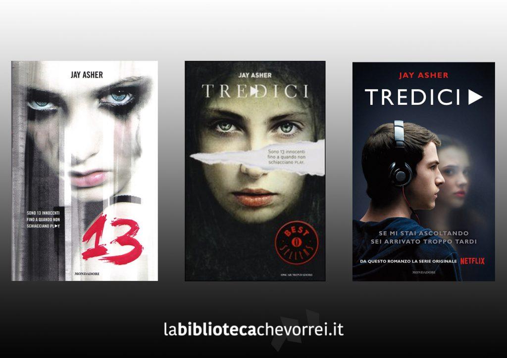 1a edizione italiana di 13 Tredici del 2008, la ristampa del 2013 e quella del 2017 attualmente in libreria.