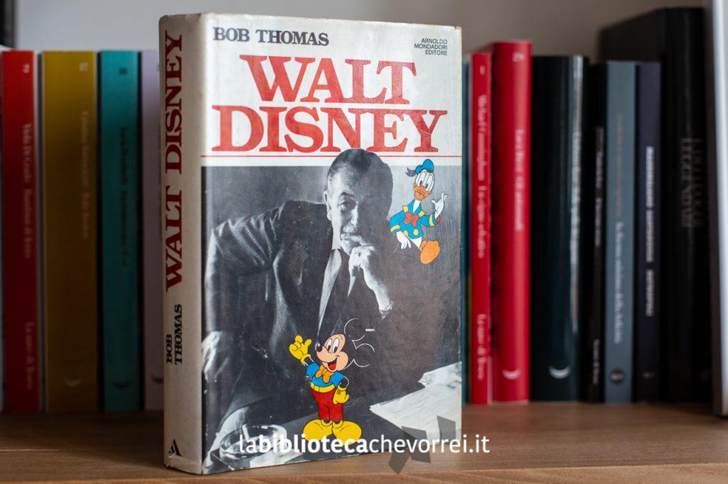 """1a edizione del 1980 di """"Walt Disney"""" del giornalista Bob Thomas"""