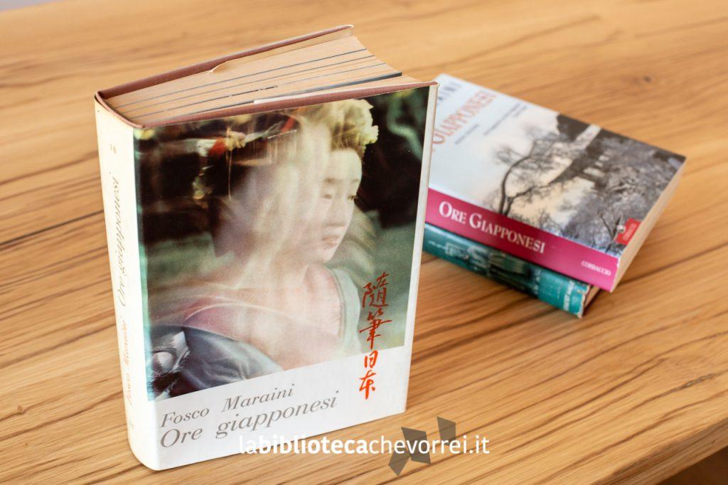 1a edizione italiana di Ore giapponesi di Fosco Maraini.