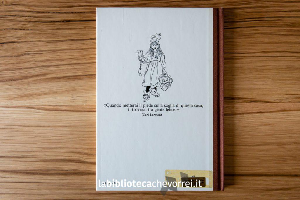 """Retro della copertina del libro di Carl Larsson """"La casa al sole""""."""
