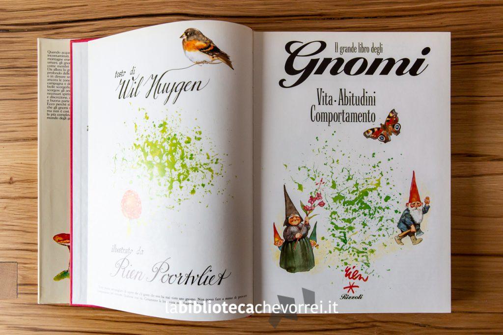 """Prima pagina de """"Il grande libro degli Gnomi""""."""