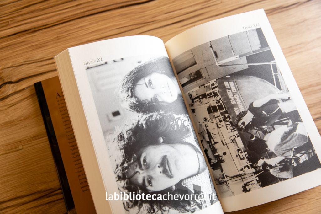 """Pagina interna con fotografie inedite. George Harrison. """"I Me Mine"""", Rizzoli, 2002."""