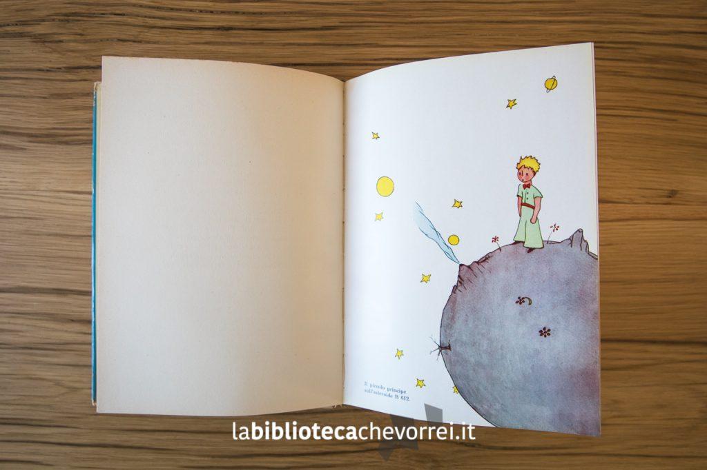 Una delle dieci tavole a colori presente nella prima edizione de Il Piccolo Principe. Bompiani, 1949.