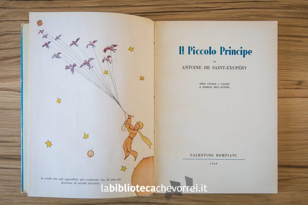 Nelle prime pagine, la prima illustrazione e la pagina che riporta la data 1949.