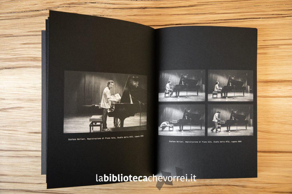 Un giovane Stefano Bollani ritratto da Roberto Masotti.