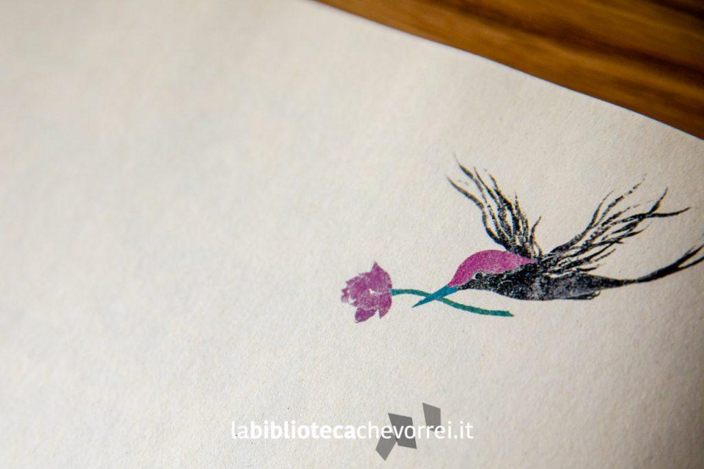 Dettaglio dell'uccellino protagonista della storia Far away di An Soojin. ©somebooks 2011.