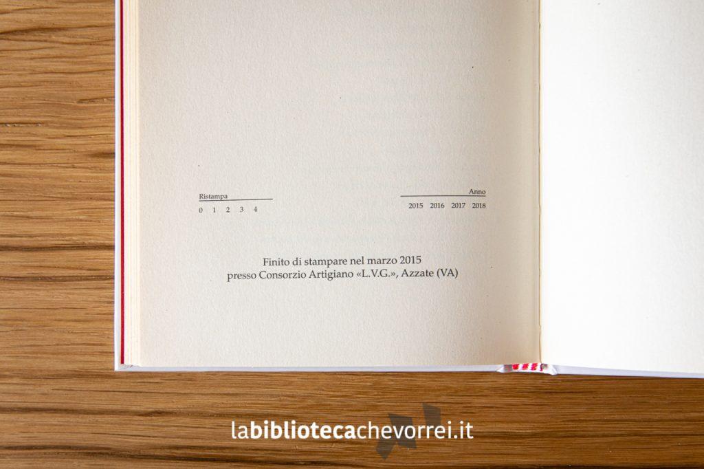 """Pagina con le indicazioni di future ristampe mai avvenute. J.D. Salinger """"I giovani. Tre racconti.""""."""