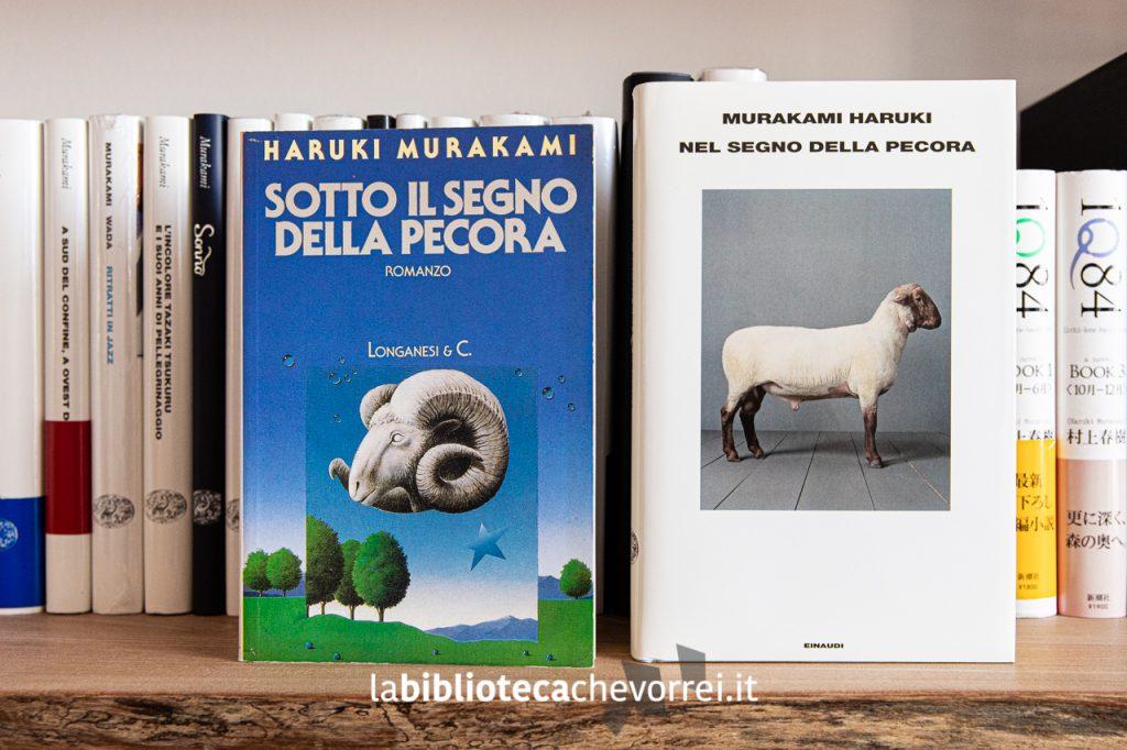 A confronto la prima edizione Longanesi e l'edizione Einaudi del 2010. Da notare anche il cambio del titolo.