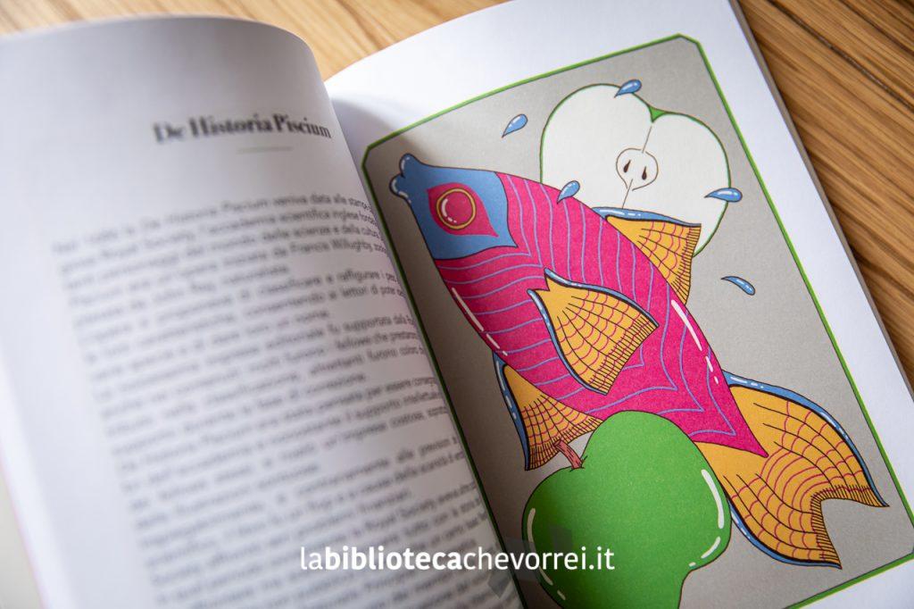 Pagina interna con le illustrazioni di Davide Bart Salvemini.