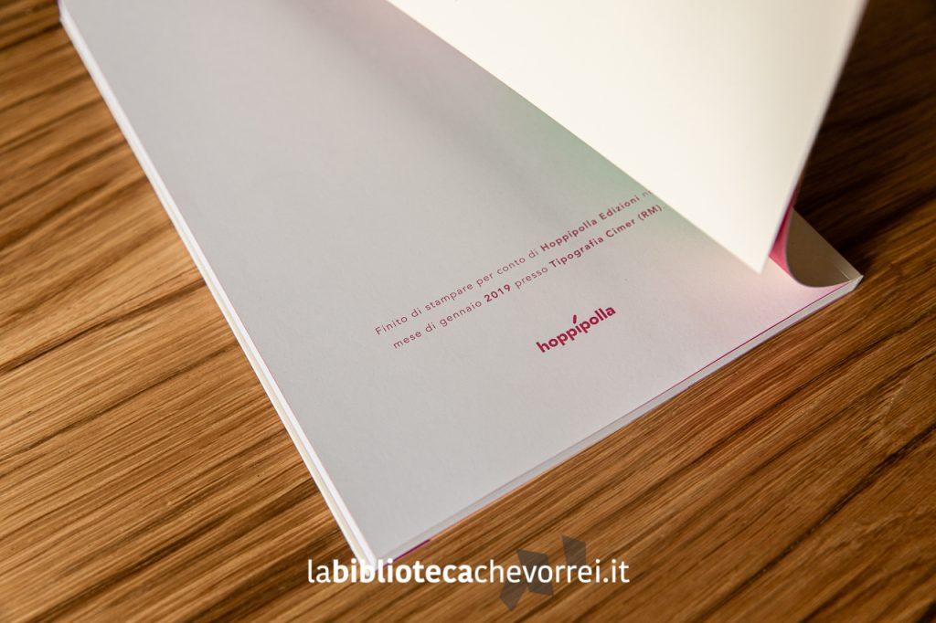 Pagina finale i dati della stampa relativi alla prima edizione del libro di Davide Bart Salvemini.