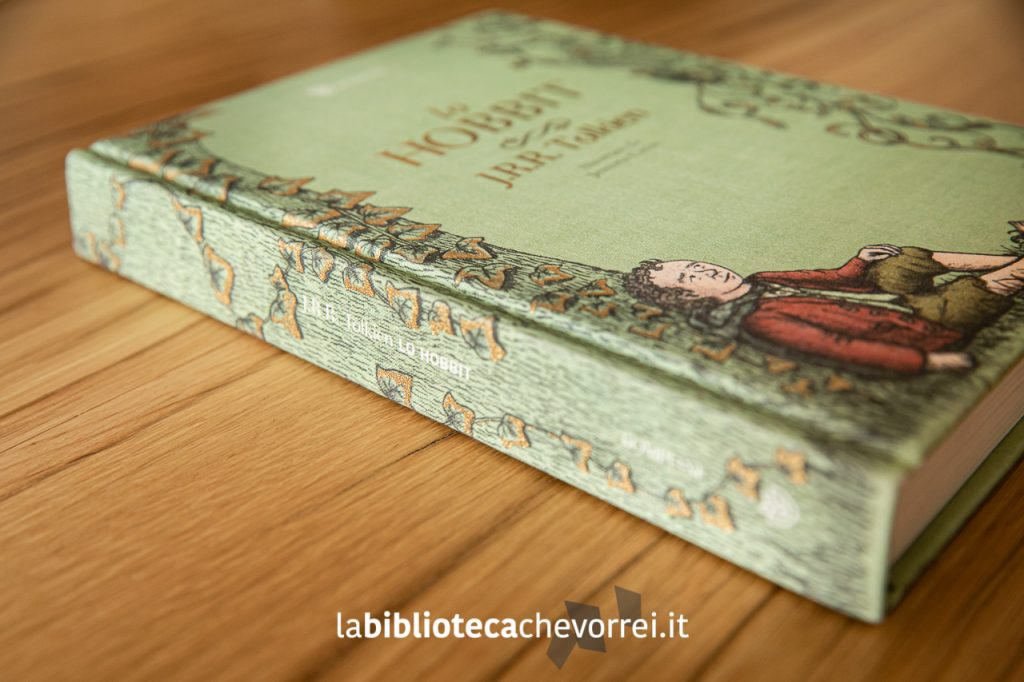 Lo Hobbit illustrato da Jemima Catlin, 1a edizione, Bompiani ottobre 2013.