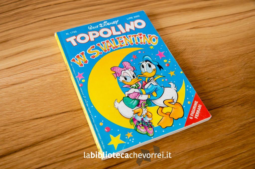 """La copertina del numero 1785 di Topolino che contiene la storia, mai più ripubblicata, di Cavazzano e Marconi: Topolino in """"Ho sposato una strega"""". ©WaltDisney 1990."""