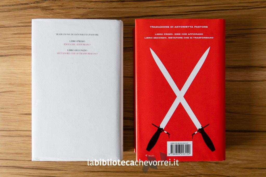 """Il retro delle edizioni 2019 de """"L'assassino del Commendatore"""" di Haruki Murakami."""