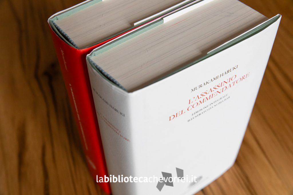 """L'edizione de """"L'assassino del Commendatore"""" di Haruki Murakami distribuita da Einaudi a collaboratori e amici."""