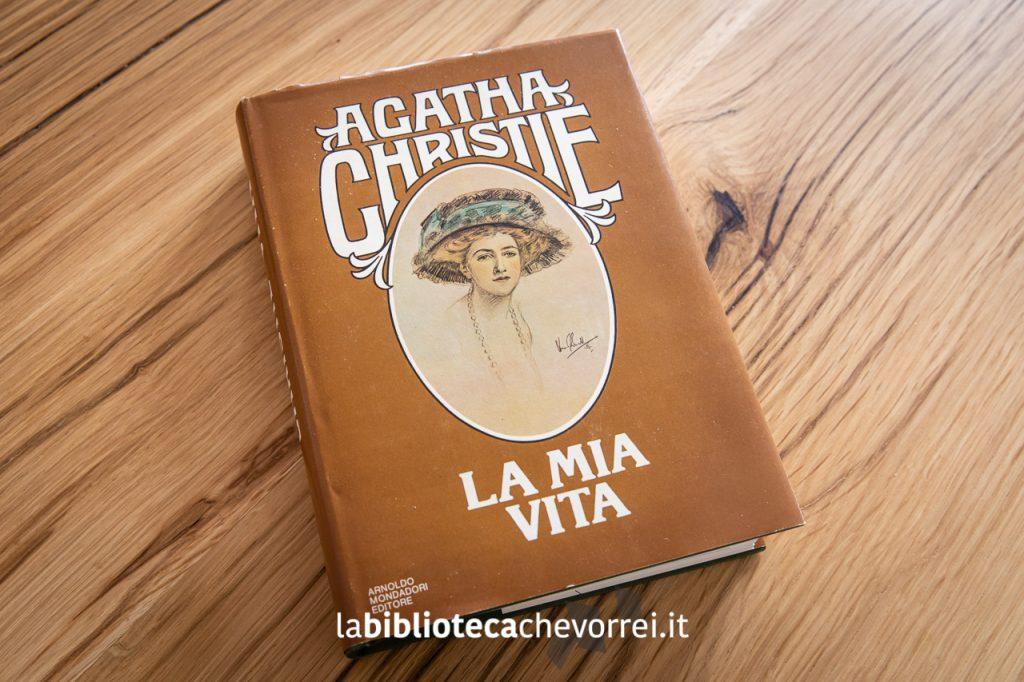 """1a edizione dell'autobiografia di Agatha Christie """"La mia vita"""", Mondadori 1978."""