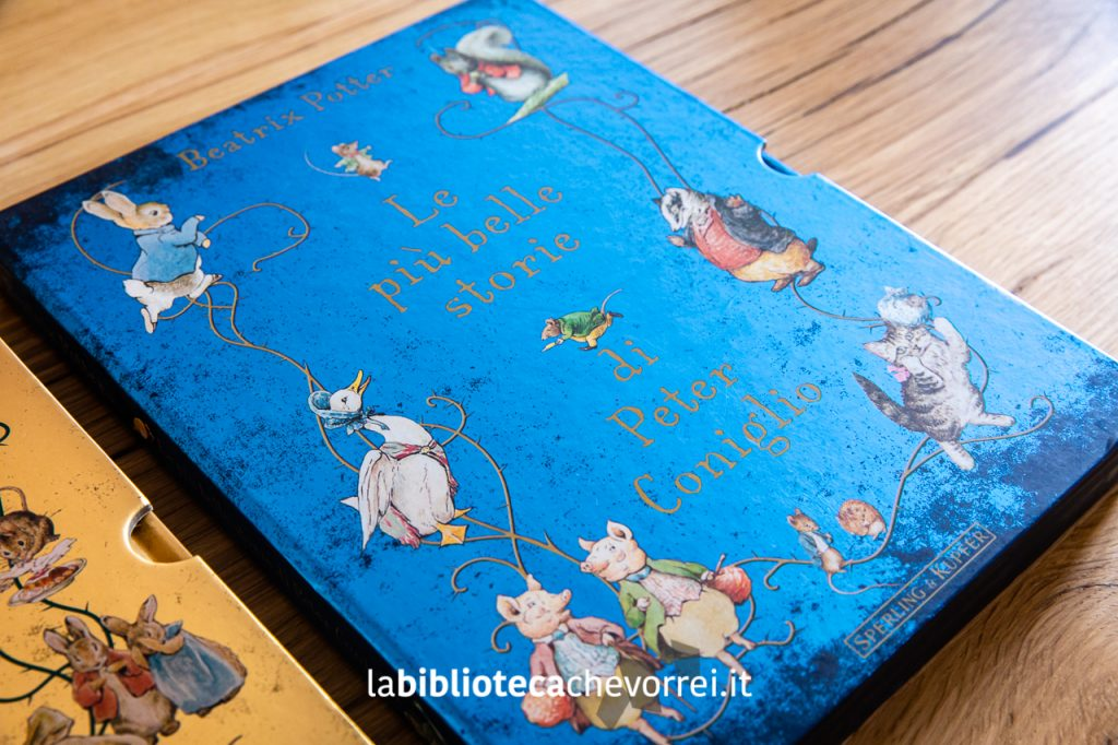 Il cofanetto blu: Le più belle storie di Peter Coniglio, Sperling & Kupfer, 2011.