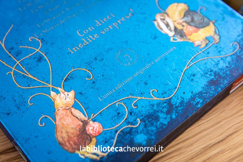 """Retro del cofanetto del 2011 che riporta la dicitura """"L'unica edizione originale e autorizzata""""."""