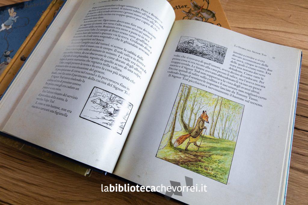Pagina interna del volume Le più belle storie di Peter Coniglio, Sperling & Kupfer, 2011.