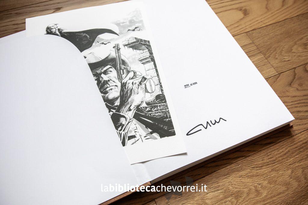 Autografo di Claudio Villa eseguito durante l'edizione 2019 di Lucca Comics.