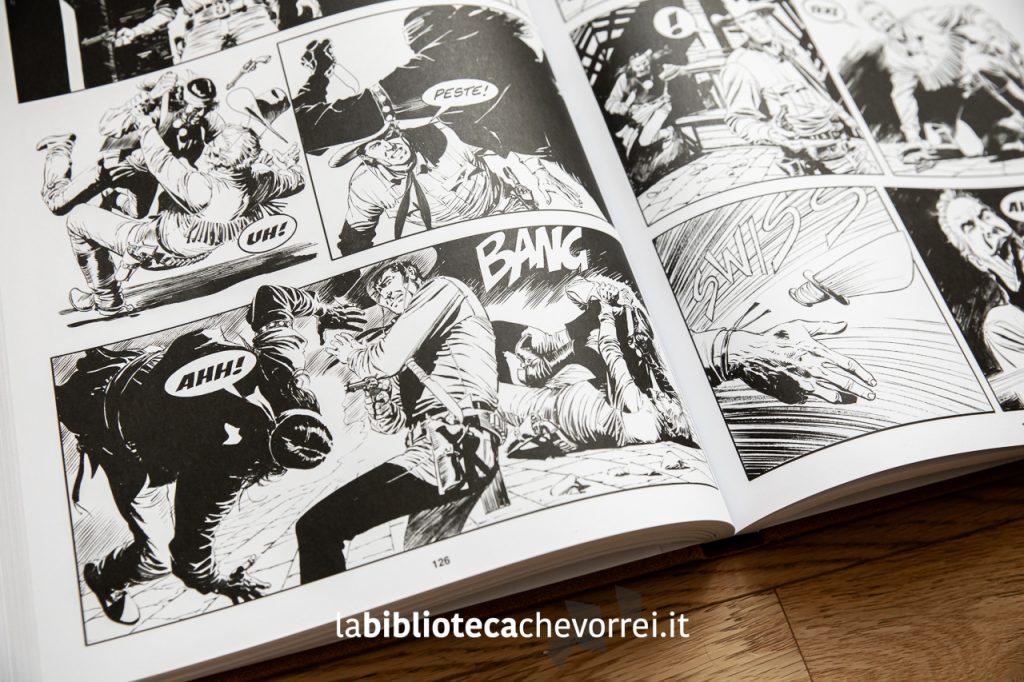 Alcune splendide tavole interne, illustrate da Claudio Villa, copertinista di Tex e dei primi Dylan Dog.