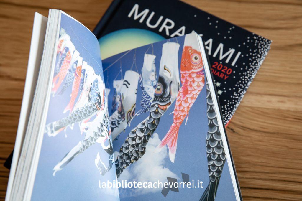 """Pagine interne del volume """"Murakami Diary 2009"""" edito dalla Vintage Publishing. 176 pagine."""