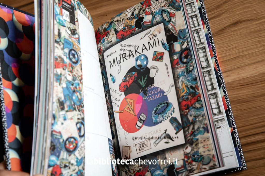 """Pagine interne del volume """"Murakami Diary 2020"""" pubblicato dalla Harvill Secker."""