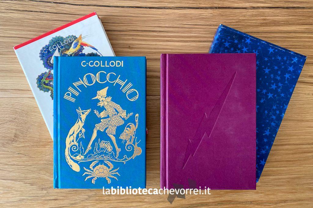 Edizioni speciali in 1.500 esemplari di Pinocchio e Harry Potter per festeggiare i 140 anni della casa editrice Salani nel 2002.