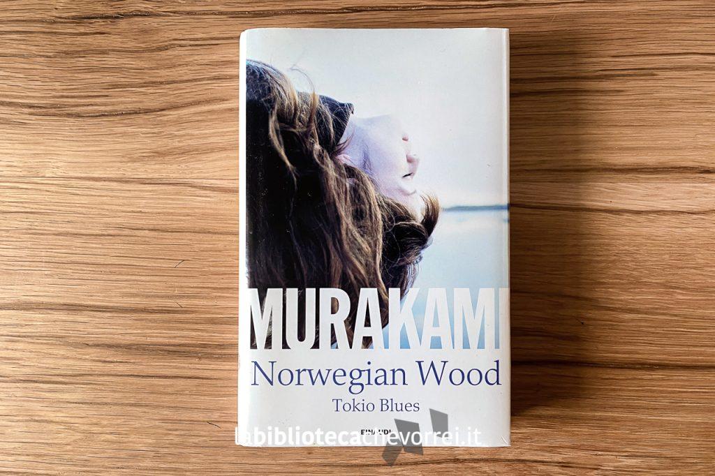 """Edizione speciale per Librerie Feltrinelli del libro """"Norwegian Wood"""" di Haruki Murakami, Einaudi, 2014."""
