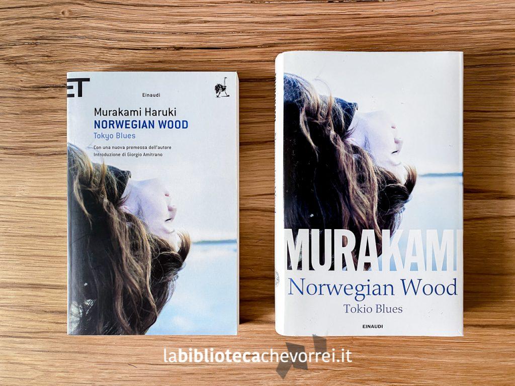 Edizioni a confronto: a sinistra l'edizione economica del volume e a destra l'edizione speciale per Librerie Feltrinelli del 2014.