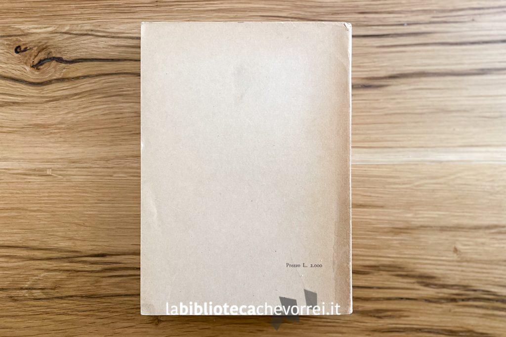 """Retrocopertina della prima edizione italiana di """"Autobiografia di uno yogi"""", Roma Astrolabio, 1951."""